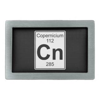 NC - Copernicium Hebillas De Cinturón Rectangulares
