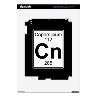 NC - Copernicium iPad 3 Pegatinas Skins