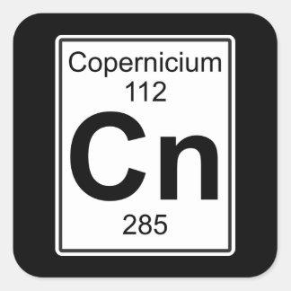 NC - Copernicium Pegatina Cuadrada