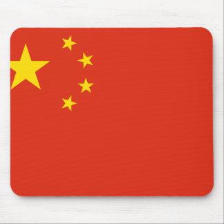 NC de la bandera de China Alfombrillas De Raton