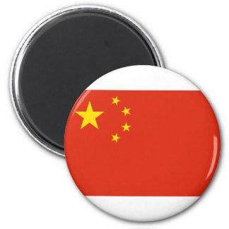NC de la bandera de China Imán Redondo 5 Cm