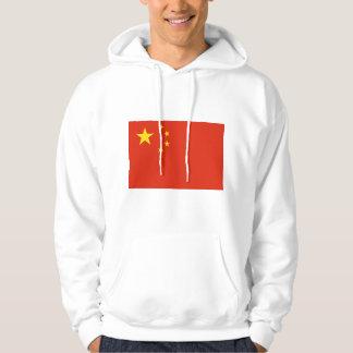 NC de la bandera de China Jersey Encapuchado