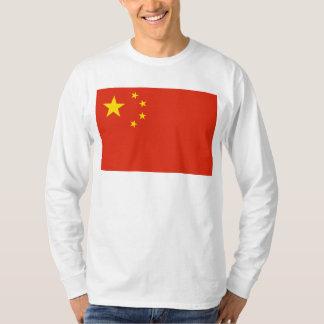 NC de la bandera de China Playeras