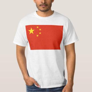 NC de la bandera de China Poleras