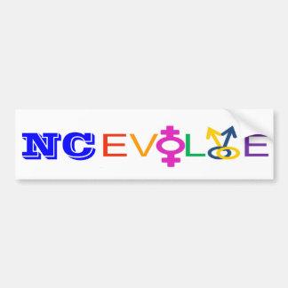 NC Evolve Bumper Sticker