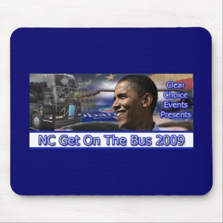 NC Get On The Bus 2009 Mouse Mat