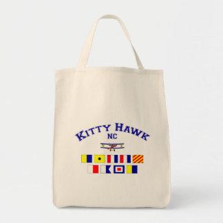NC Kitty Hawk Signal Flags Tote Bag