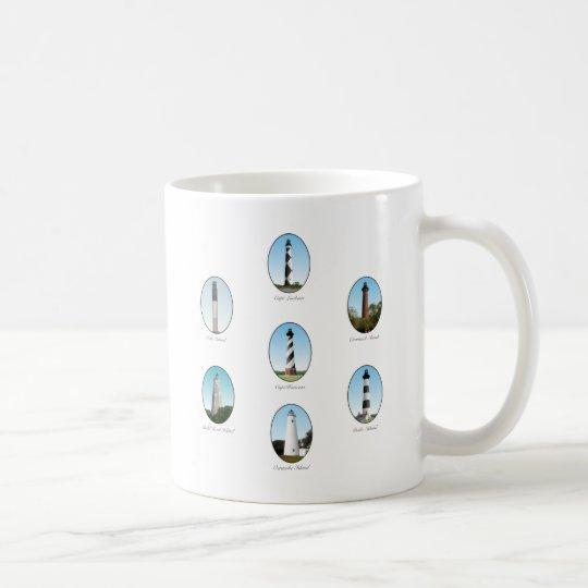 NC Lighthouses Combo Two Coffee Mug