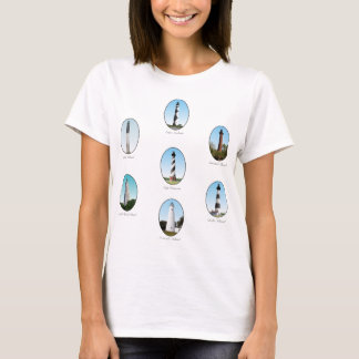 NC Lighthouses Combo Two T-Shirt