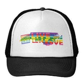 NC Live Let Love Mesh Hat