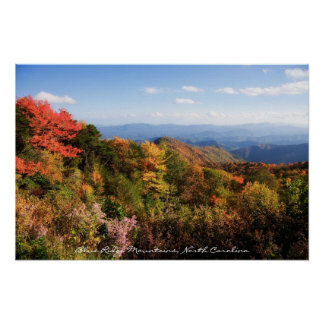NC Mountains Poster