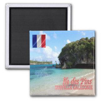 NC - New Caledonia - L'Île des Pins - Kanumera Bay Magnet
