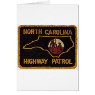 NC STATE TROOPER CARD