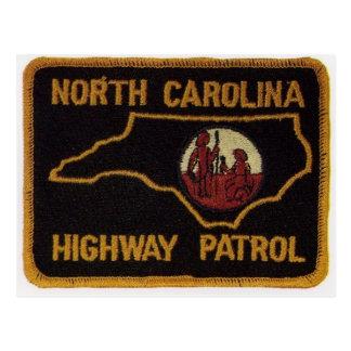NC STATE TROOPER POSTCARD