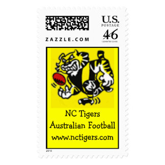 NC Tigers stamps