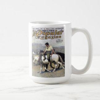 NC Wyeth - Popular Magazine Cover April, 1910 Coff Coffee Mug