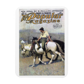 NC Wyeth - Popular Magazine Cover April, 1910 Magn Rectangular Magnets