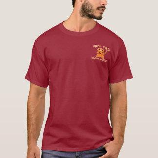 NCAA Virginia Tech Chemo Ninja He's a Fan! T-Shirt