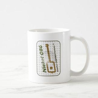 NCBG Faded Bubble Classic White Coffee Mug