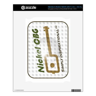 NCBG Faded Bubble NOOK Decals