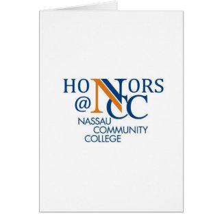 NCC Honors Apparel Card