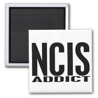 NCIS Addict 2 Inch Square Magnet