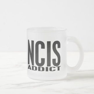 NCIS Addict Frosted Glass Coffee Mug