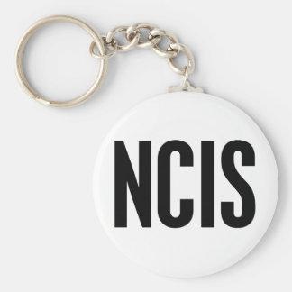 NCIS BASIC ROUND BUTTON KEYCHAIN