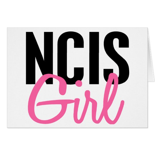NCIS Girl 4 Card
