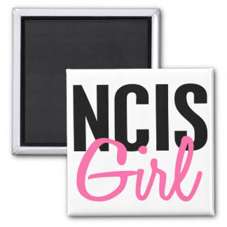 NCIS Girl 4 2 Inch Square Magnet