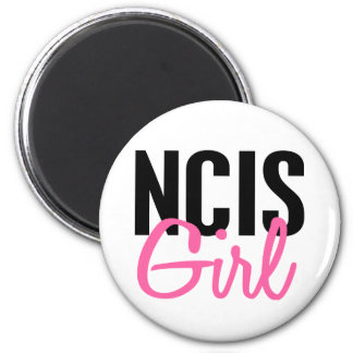 NCIS Girl 4 2 Inch Round Magnet