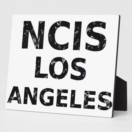 NCIS Los Angeles Logo Plaque