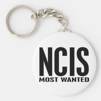 NCIS Most Wanted Key Chain