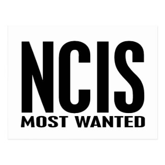 NCIS Most Wanted Postcard