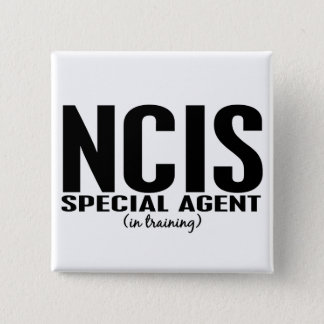 NCIS Special Agent In Training 1 Button