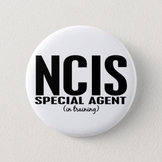 NCIS Special Agent In Training 1 Pinback Button