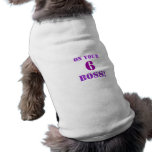 NCIS TV Show On your 6 boss! Dog Sweater Doggie T Shirt