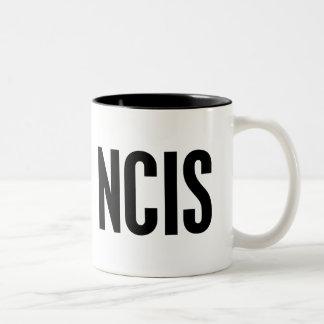 NCIS Two-Tone COFFEE MUG