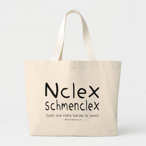 NCLEX Schmenclex Nursing Exam Canvas Bag