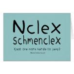 NCLEX Schmenclex Nursing Exam Card