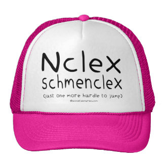 NCLEX Schmenclex Nursing Exam Trucker Hat