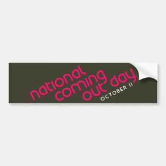 NCOD Ascent Dark Bumper Sticker