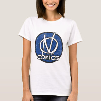 NComics Logo Distressed T-Shirt