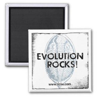 """NCSE """"Evolution Rocks"""" Magnet"""