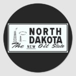 ND booster plate Classic Round Sticker