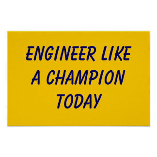 ND engineer Poster