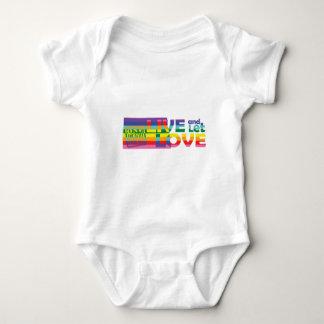 ND Live Let Love Baby Bodysuit
