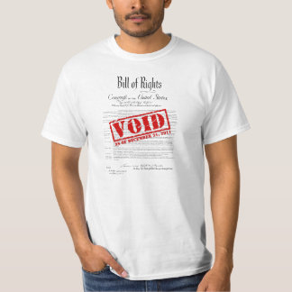NDAA Bill of Rights Void T-Shirt