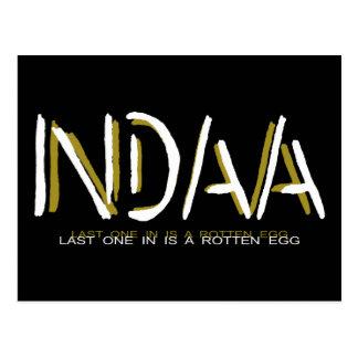 NDAA - El último uno adentro es un huevo Tarjeta Postal