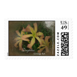 NDG Postage-Daylilies Living Art SF